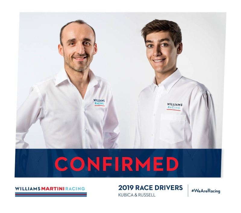Kubica y Rusell