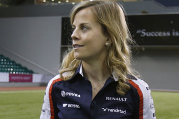Susie Wolff está en Williams (Foto: Reuters)