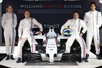 Los pilotos del equipo (Foto: Williams Martini Racing)